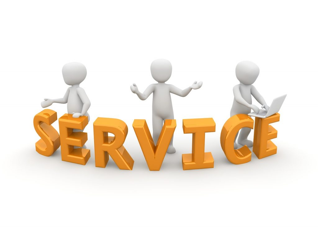 service, reception, official